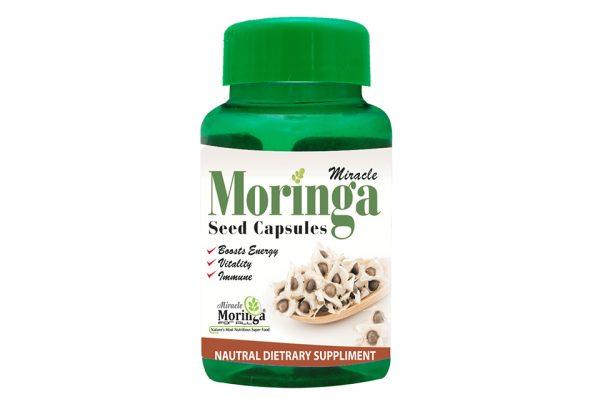 Moringa Seed Capsules